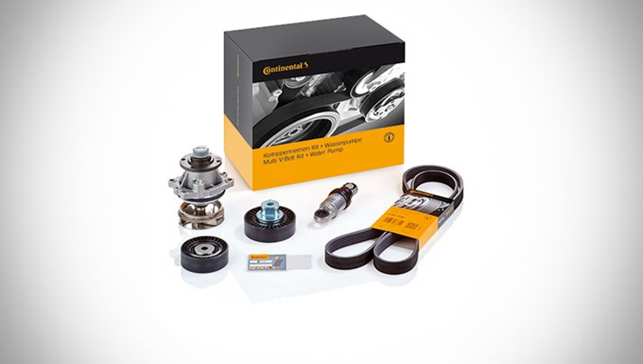 Multi V-Belt Kit + Water Pump